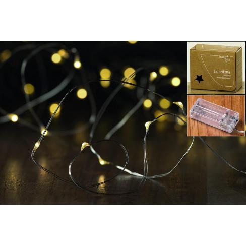 Led гирлянд с 40 лампички и 4.20м дължина с таймер