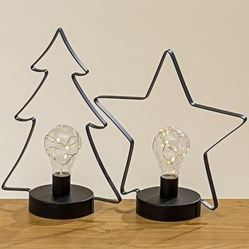 Led лампа звезда/елха два вида