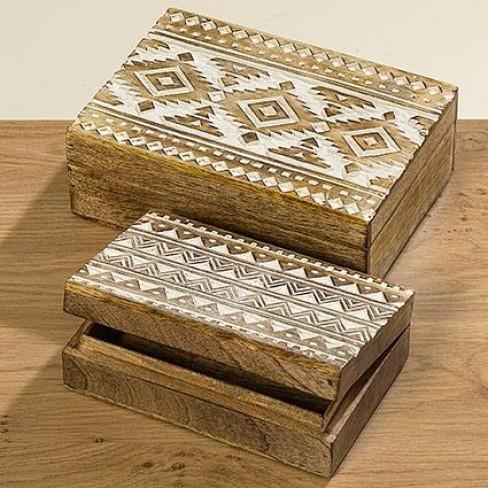 Декоративна кутия 25х18х9см Pattern голяма