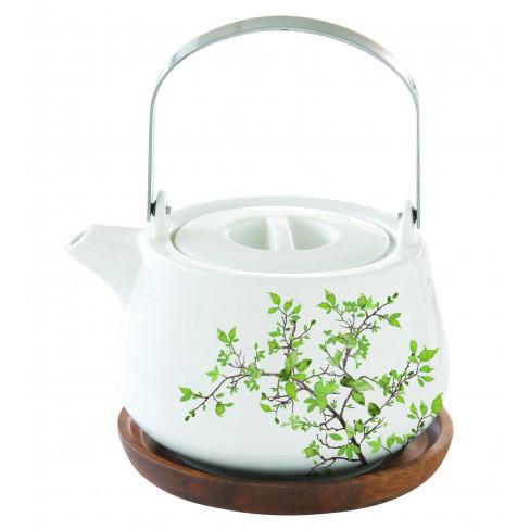 Чайник с подложка Natura 750 мл
