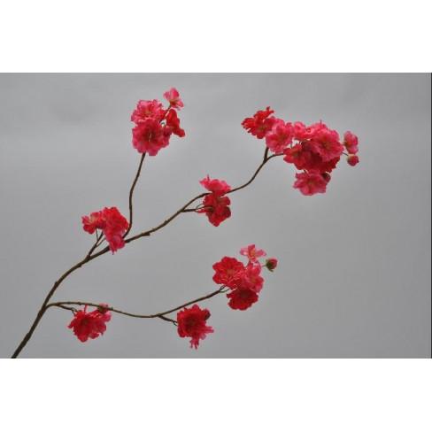 Клонка с цветчета 84см Beauty червена