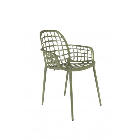 Градински стол Albert Kuip 82см зелен