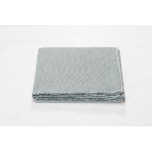 Одеяло Siena Chevrons светло сиво 150x200см