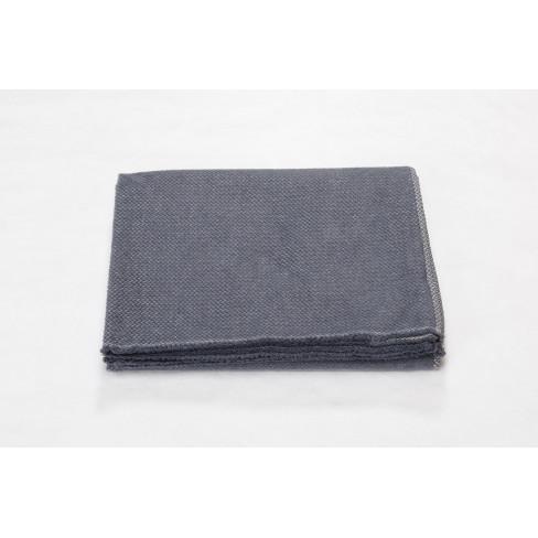 Одеяло Siena Chevrons тъмно сиво 150x200см