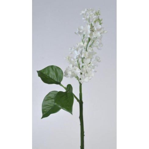 Клонче люляк 40 см бяло