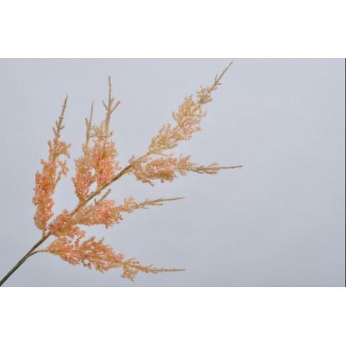 Изкуствено цвете спирея 99см оранж
