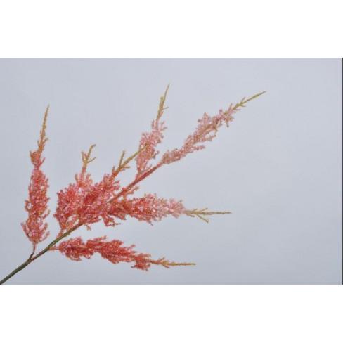 Изкуствено цвете спирея 99см розово