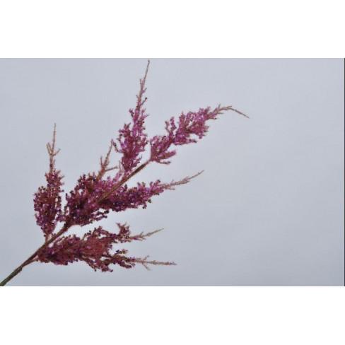 Изкуствено цвете спирея 99см лила