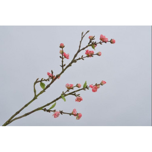 Клонка с цветове 77см розова