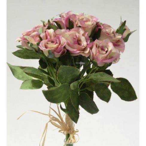 Букет рози 27 см лила