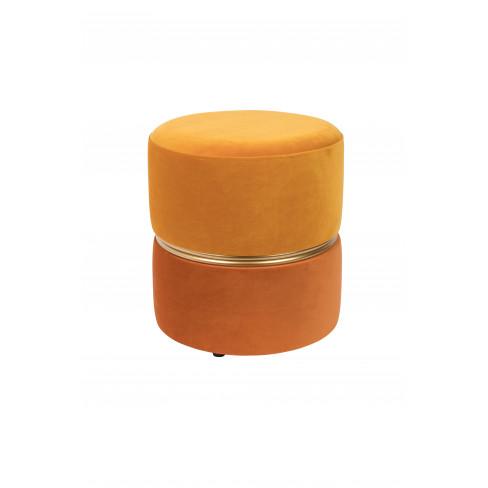 Табуретка 35х39см Bubbly оранж