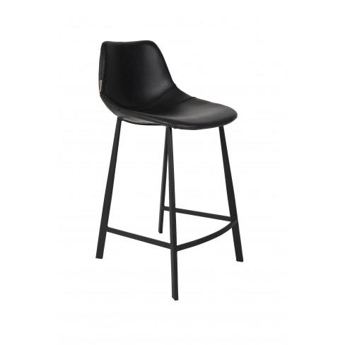 Висок стол Franky 91см черен