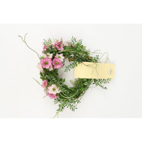 Гирлянд от цветчета 180см розов