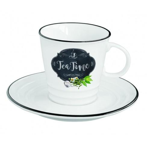 Чаша с чинийка Basic Tea 300 мл