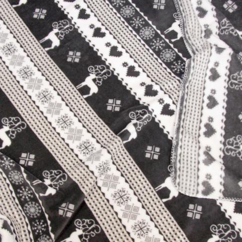 Одеяло 130х160см Winter тъмно сиво