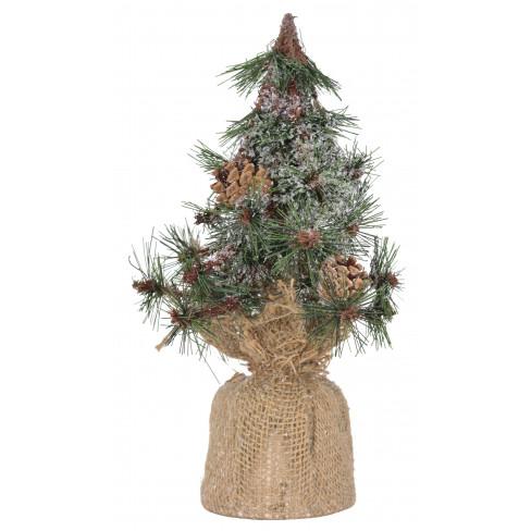 Изкуствена елхичка в зебло 30см