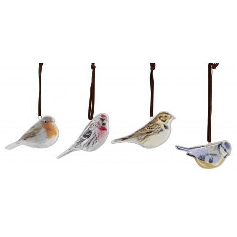 Висяща фигура птиче 10 см 4 вида