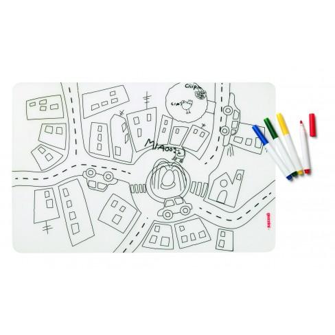 Кт/4 маркера и подложка за оцветяване Traffic