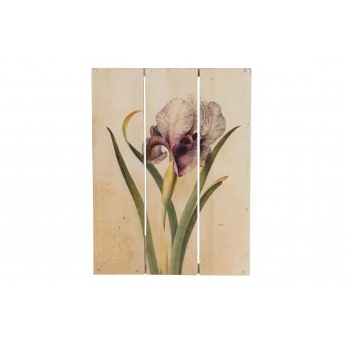 Картина на дървена основа Orchid 25 см