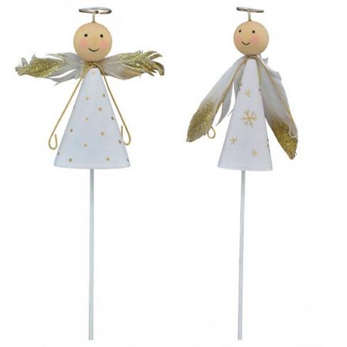 Фигура ангел 32х9х5см Dost два вида