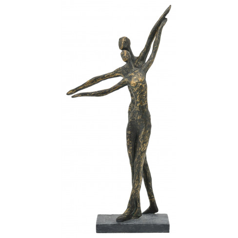 Фигура танцуваща двойка 20х10.2х42см Hilda