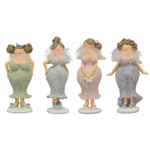 Фигура жена 19.5-22.7см Lady четири вида