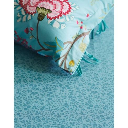 Долен чаршаф 90х200 на цветя син Lovely Pip Studio