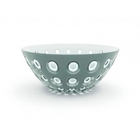 Двуцветна купа Le Murrine 25см бяло-сива