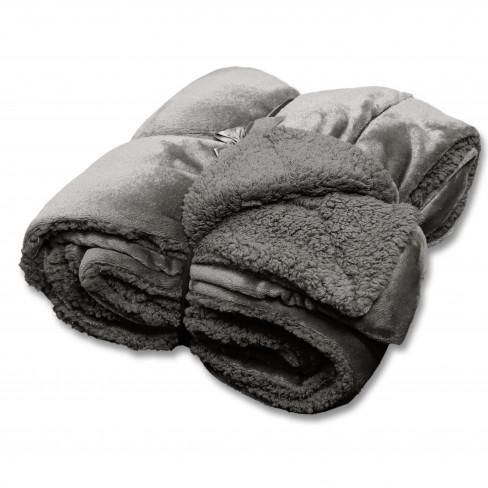 Одеяло 150х200см Jonas тъмно сиво