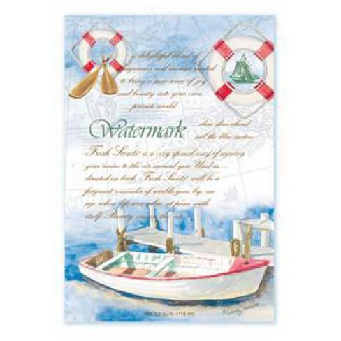 Watermark синьо аром.саше 115ml Fresh Scents