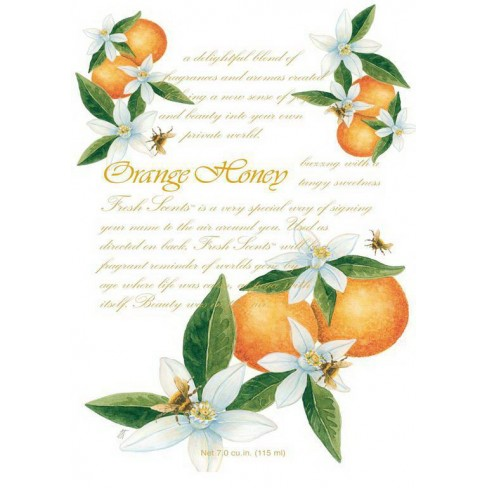 Портокали Orange Honey аром.саше 115ml Fresh Scents