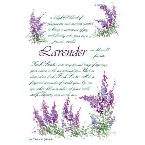 Lavender бяло 115 мл ароматни саше Fresh Scents