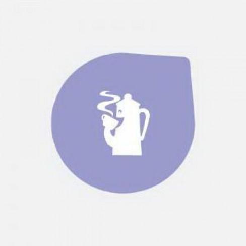 Кт/10 капсули кафе Costarica лила