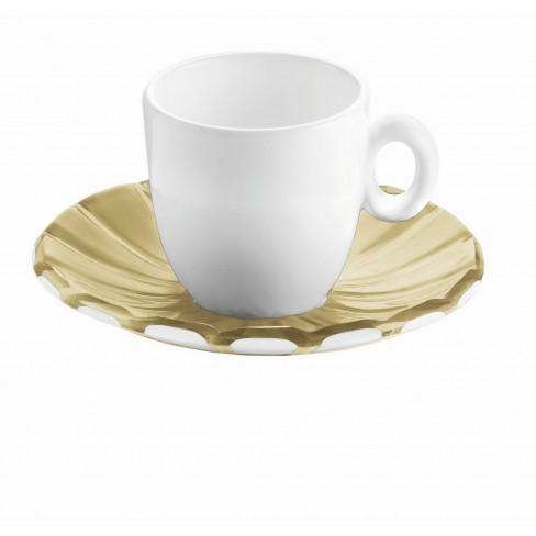 К-т/2 чаши за еспресо Grace 80 мл беж