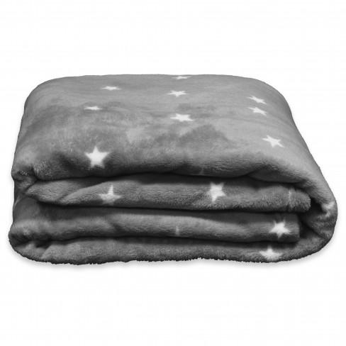 Одеяло 150х200см Little Star тъмно сиво