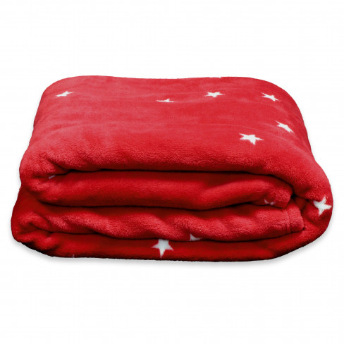 Одеяло 150х200см Little Star червено