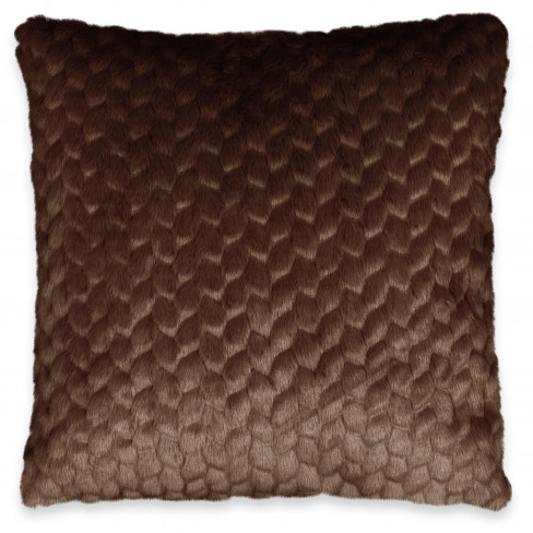 Възглавница 45х45см Kimmie тъмно кафява