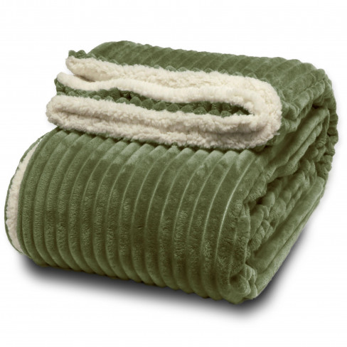 Одеяло 150х200см Dez тъмно зелено