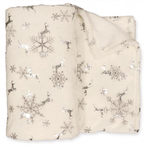 Одеяло 130х170см Silver Snowflake