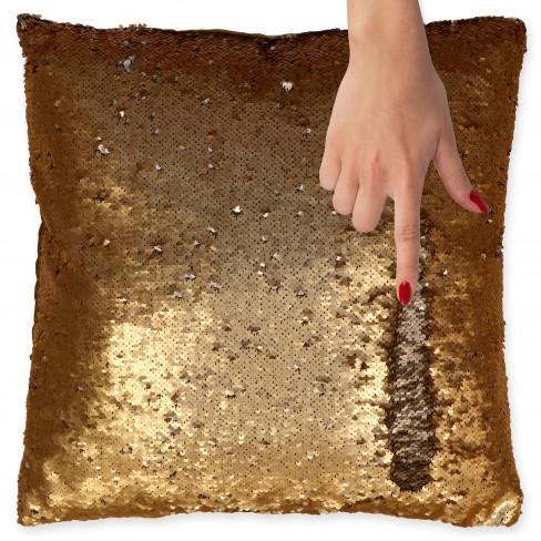 Възглавница 45х45см Comet златна