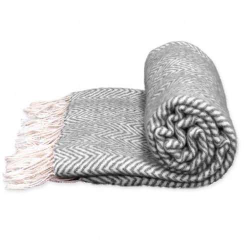 Одеяло 130х160см Manon тъмно сиво