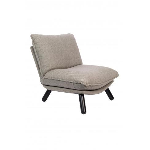 Кресло 81см Lazy Sack сиво