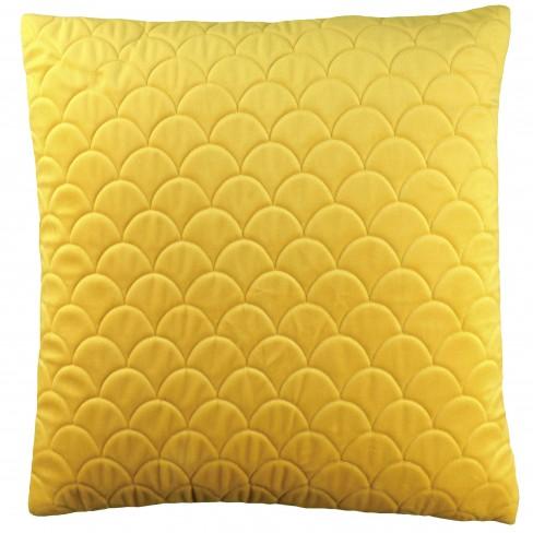 Възглавница 45х45см Reza жълта