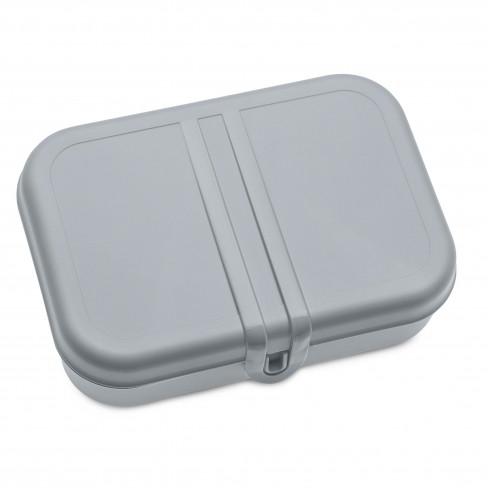 Кутия за обяд с разделител Pascal L сива