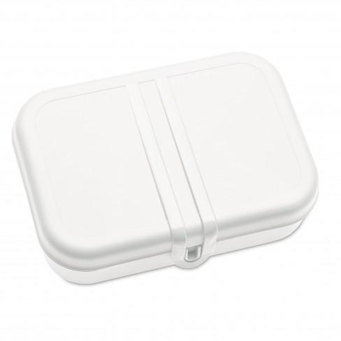 Кутия за обяд с разделител Pascal L бяла