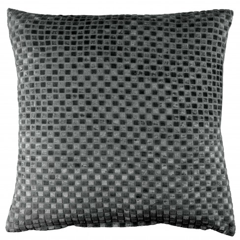 Възглавница 45х45см Nimar тъмно сива