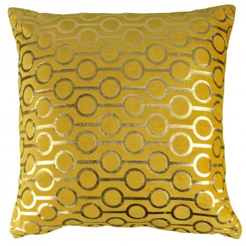 Възглавница 45х45см Ringo жълта