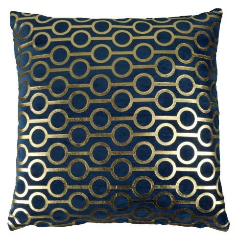 Възглавница 45х45см Ringo тъмно синя