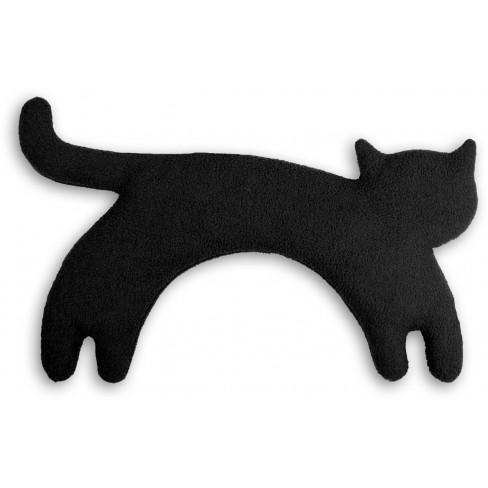 Загряваща възглавничка за врат Minina The Cat черна