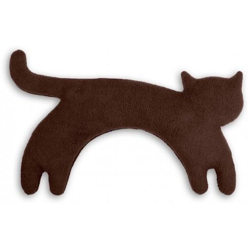 Загряваща възглавничка за врат Minina The Cat кафява